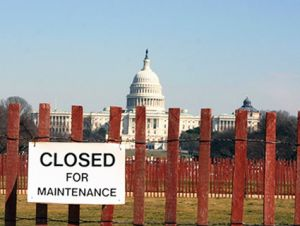Government Shutdown on the Ant Hill