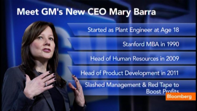 Meet GM's New CEO Mary Barra