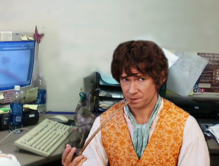 hobbit in office