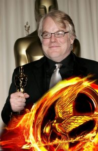 philip seymour hoffman catching fire plutarch heavens bee