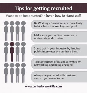 tips for getting recruited